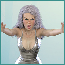 Z Possessed - Poses with Partials and Expressions for the Genesis 3 & 8 Females image 7