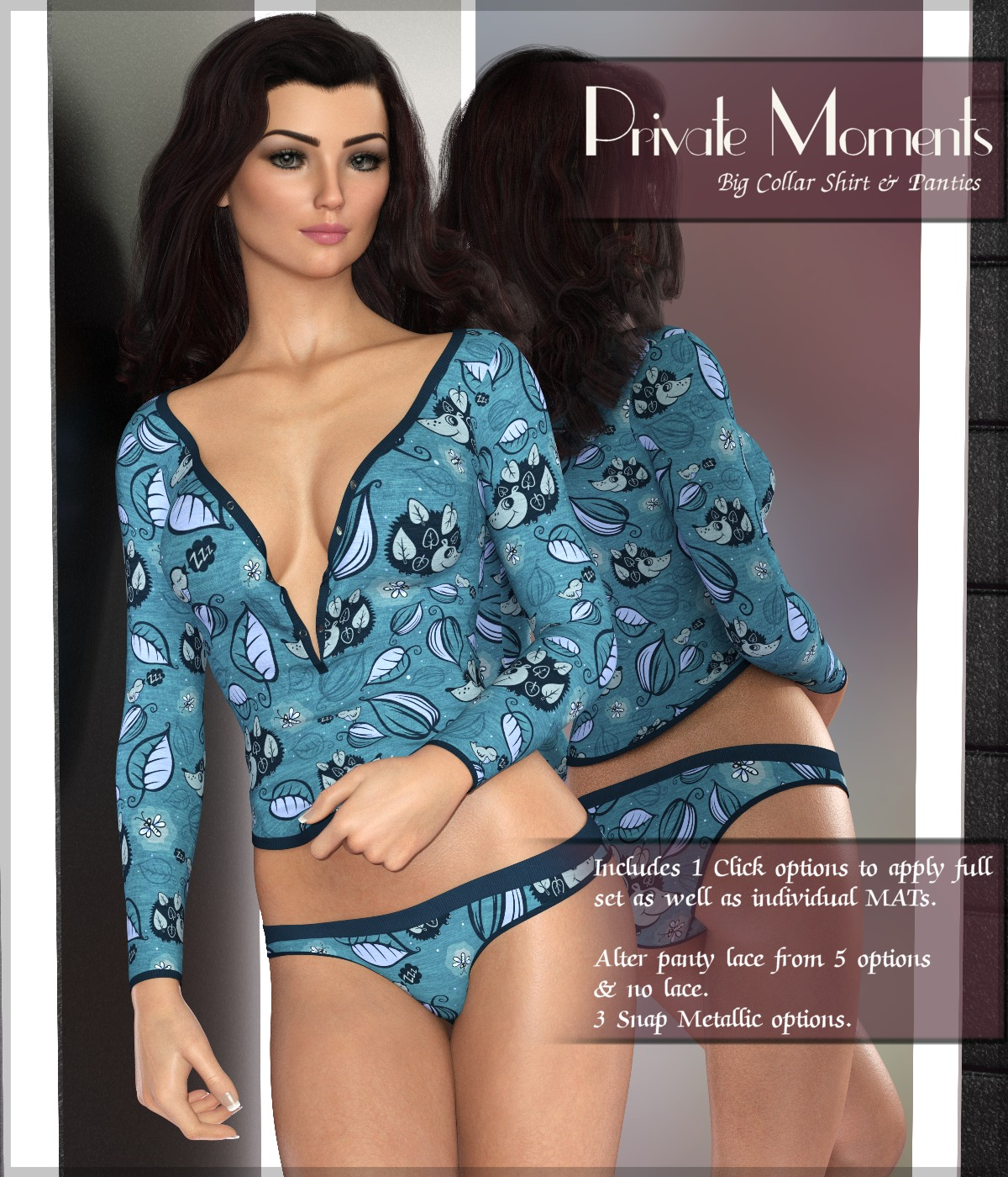 Private Moments: Big Collar Shirt - G8F