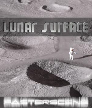 Lunar Surface 3D Models jazma