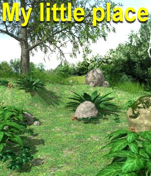 My little place Poser 3D Models JeffersonAF