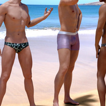 Swim Wear Add On for OOT Intimates for Genesis 8 Male image 1