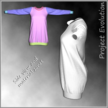 Long Sweater and 10 Styles for Project Evolution - Poser image 9
