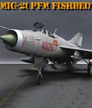 MiG-21 PFM Fishbed F for Poser 3D Models VanishingPoint