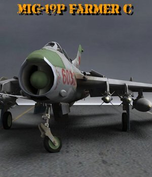 MiG-19 Farmer C for Poser 3D Models VanishingPoint