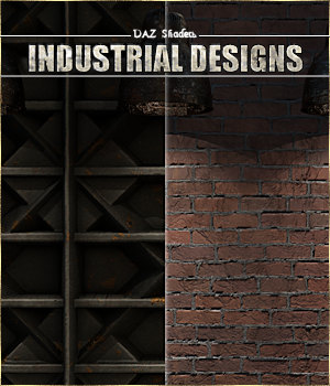 Industrial Designs - IRAY Shaders for DAZ 3D Figure Assets Cyriona