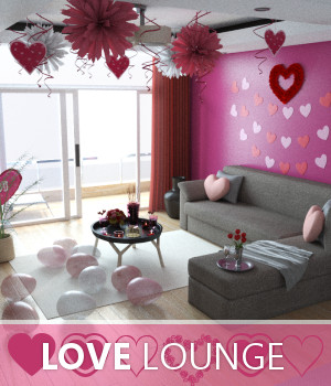 Love Lounge 3D Models TruForm