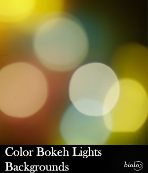 Color Bokeh Backgrounds 2D Graphics biala