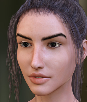 Larissa for Genesis 3 and Genesis 8 Female 3D Figure Assets LeoLee