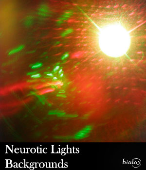 Neurotic Light Backgrounds 2D Graphics biala