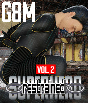 SuperHero Restrained for G8M Volume 2 3D Figure Assets GriffinFX