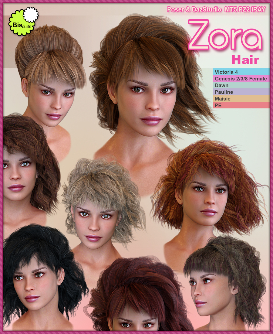 Biscuits Zora Hair by Biscuits
