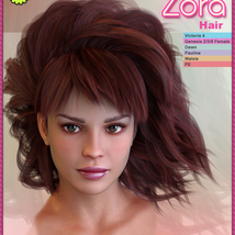 Biscuits Zora Hair image 1