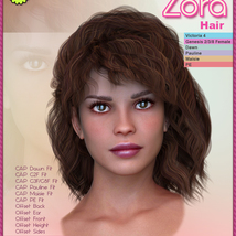 Biscuits Zora Hair image 2