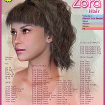 Biscuits Zora Hair image 3
