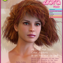 Biscuits Zora Hair image 5