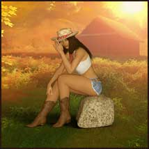 Country Memories - Backgrounds and poses for G3/8F and Hivewire Horse image 2