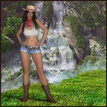 Country Memories - Backgrounds and poses for G3/8F and Hivewire Horse image 4