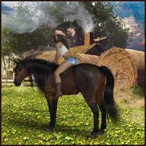 Country Memories - Backgrounds and poses for G3/8F and Hivewire Horse image 6
