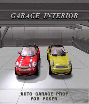Garage Interior 3D Models shawnaloroc