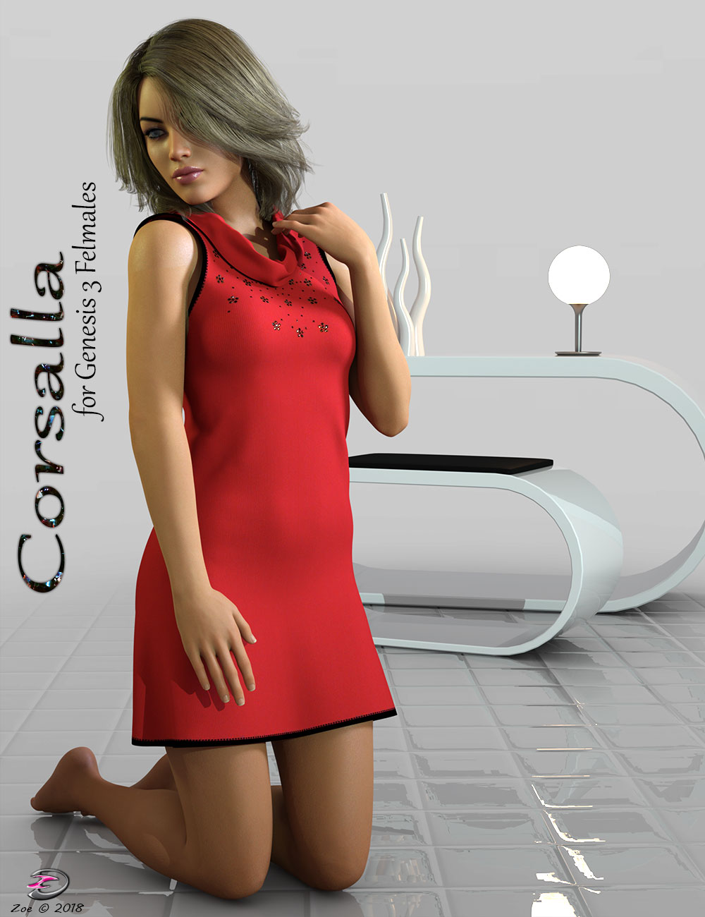 Corsalla for Genesis 3 Females by Zoe