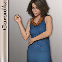 Corsalla for Genesis 3 Females image 2