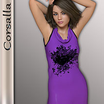Corsalla for Genesis 3 Females image 3