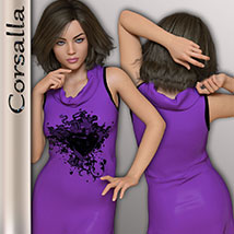 Corsalla for Genesis 3 Females image 5