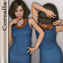 Corsalla for Genesis 3 Females image 7