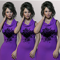 Corsalla for Genesis 3 Females image 9