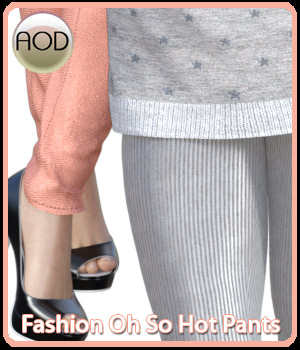 Fashion: Oh So Hot Pants for G3 and G8 Females by ArtOfDreams