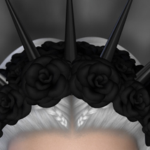Gothiara Rose - Hair Piece Props image 3