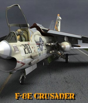 F8E Crusader for Poser  3D Models VanishingPoint