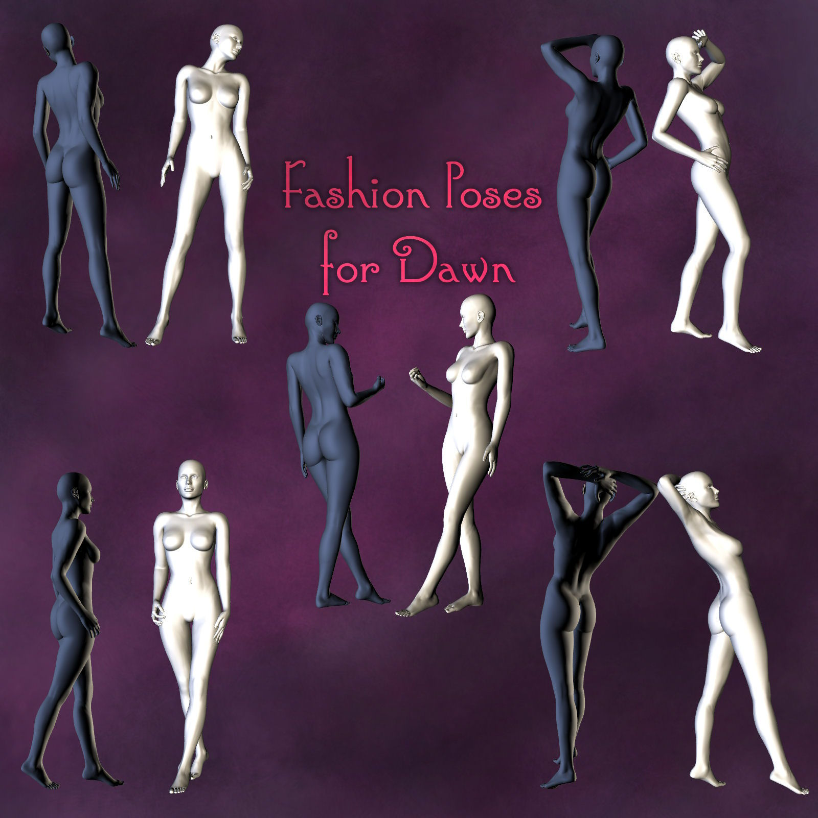 Fashion Poses for Dawn