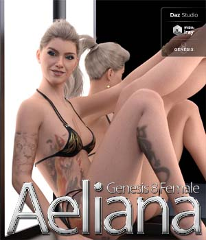 Aeliana For Genesis 8 Female 3D Figure Assets KobaAlexander