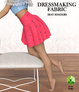 Dressmaking Fabric :: Daz IRAY Shaders 3D Figure Assets Merchant Resources Cyrax3D