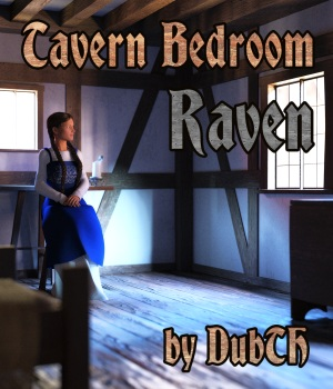 Tavern Bedroom Raven for Iray 3D Models DubTH