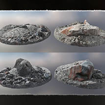 3D Scenery: Mystic Red Lands image 6