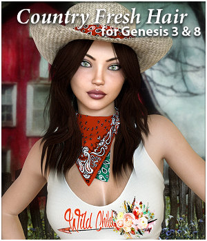 Country Fresh Hair for G3 or G8 by RPublishing