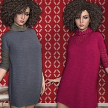 7th Ave: Turtleneck for Genesis 3 Females image 1