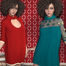 7th Ave: Turtleneck for Genesis 3 Females image 2