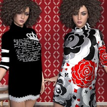 7th Ave: Turtleneck for Genesis 3 Females image 5