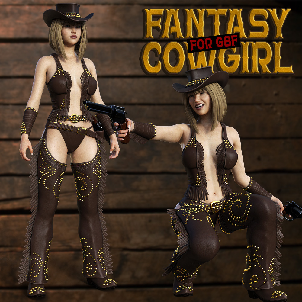 Fantasy CowGirl for G8 Females by powerage