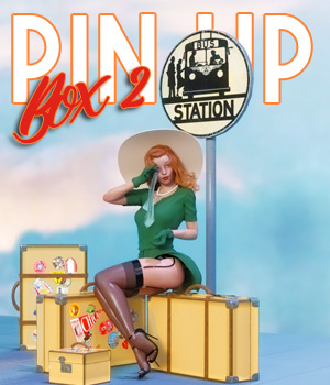 Pin Up Box 02 for DS 3D Models pamawo