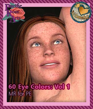 60 Eye Colors: Vol 1 MR for Project: Evolution 2D Graphics Merchant Resources Boni