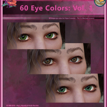 60 Eye Colors: Vol 1 MR for Project: Evolution image 2