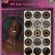 60 Eye Colors: Vol 1 MR for Project: Evolution image 3