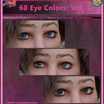 60 Eye Colors: Vol 1 MR for Project: Evolution image 4