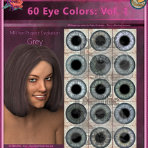 60 Eye Colors: Vol 1 MR for Project: Evolution image 6