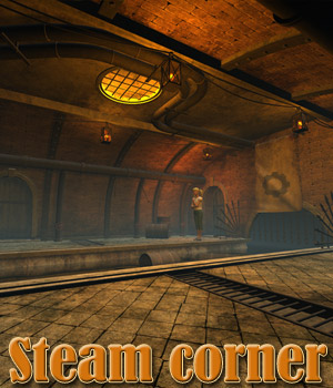 Steam corner 3D Models 1971s