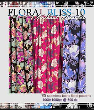 FLORAL BLISS-10 2D Graphics Merchant Resources RajRaja